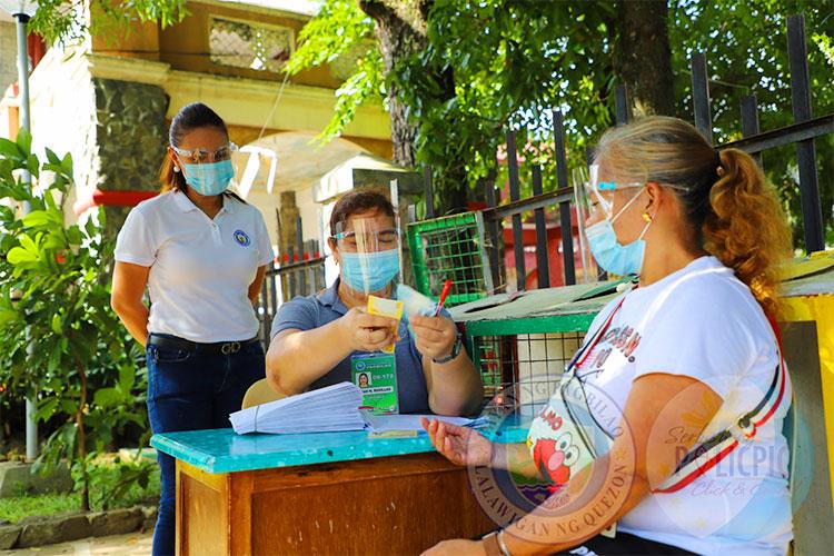 Distribution of Aid to Barangays Batch 4