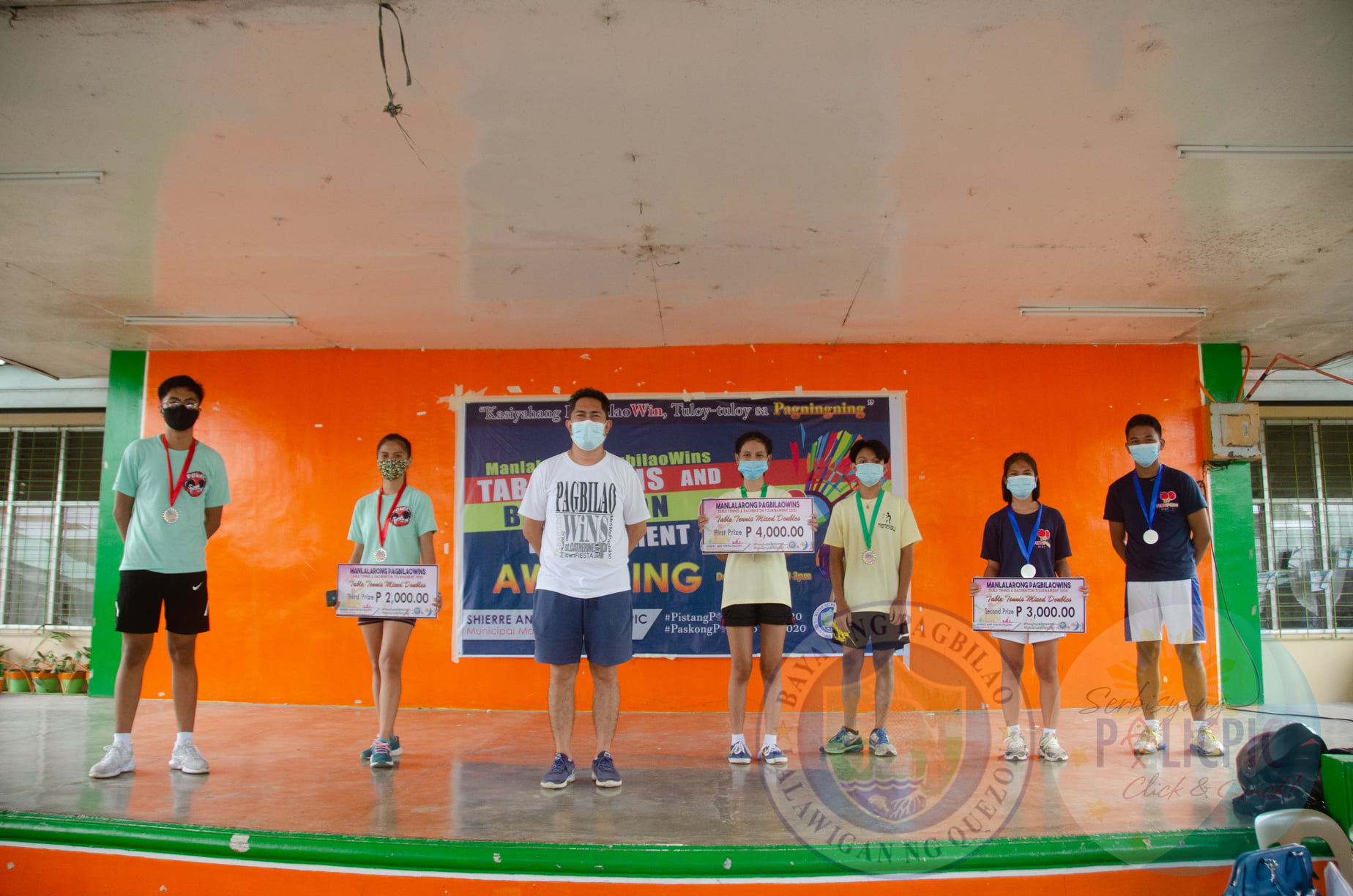 Badminton & Table Tennis Awarding