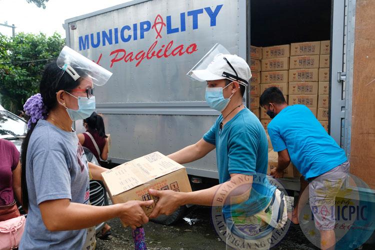 Distribution Food Packs