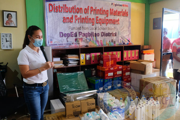 Distribution Printing Materials