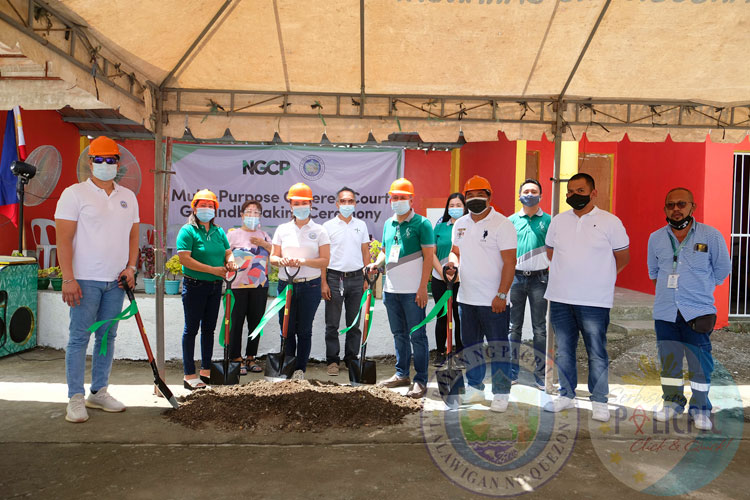 NGCP Covered Court Grounbreaking