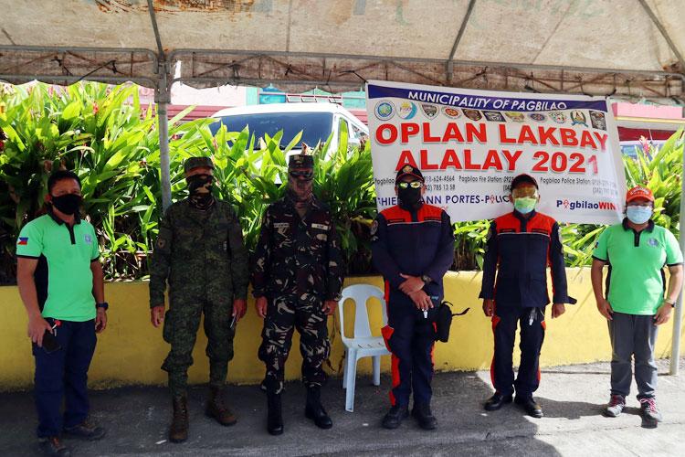 Municipal Assistance Desk para sa Oplan Lakbay Alalay 2021