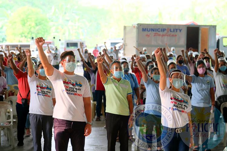 COVID-19 Vaccination Roll Out sa Bayan ng PagbilaoWINS