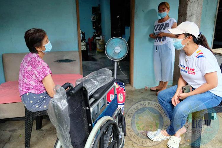 Distribution of Wheelchair