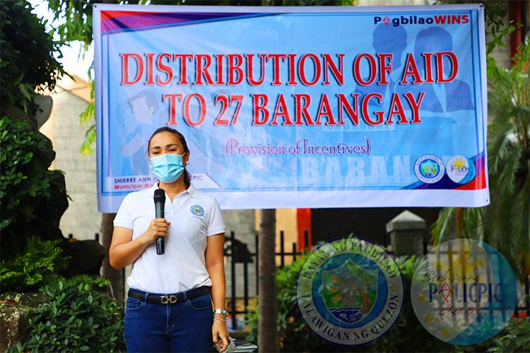 Distribution of Aid to Barangays Batch 3