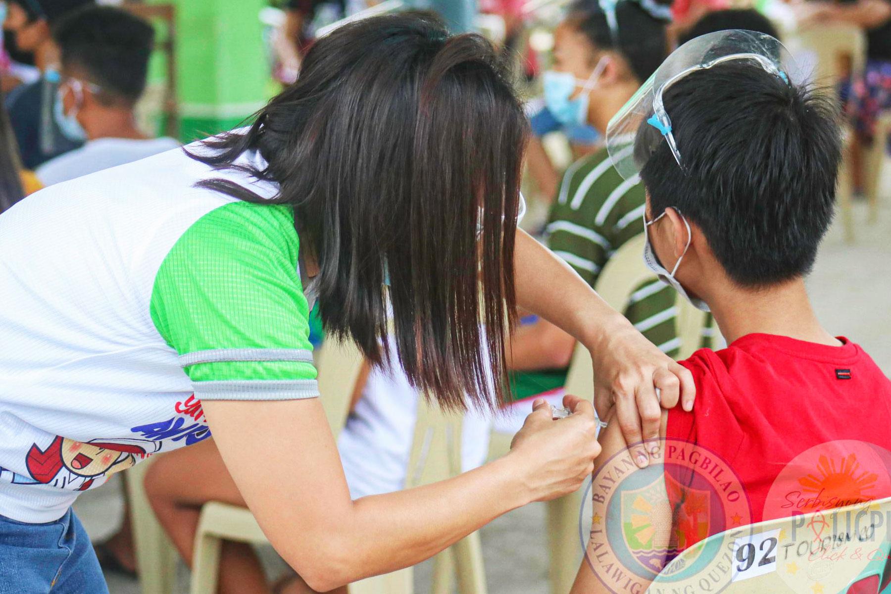 Anti Flu Vaccine - Pagbilao DepEd District II