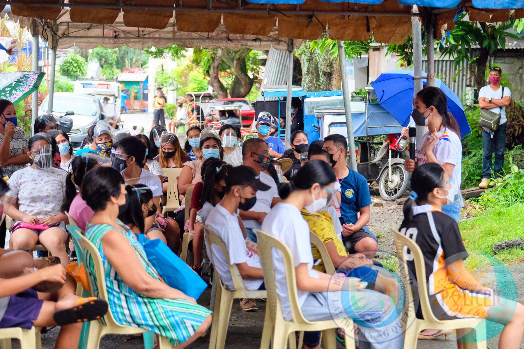 Anti Flu Vaccine -  Brgy. Mapagong