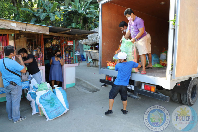2nd Wave of Rice Distribution - Brgy. Añato