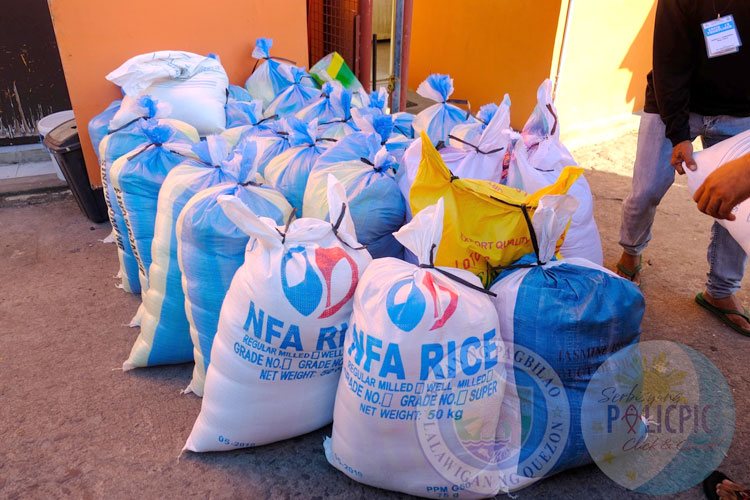 2nd Wave of Rice Distribution - Brgy. Castillo