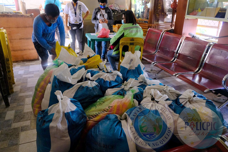 2nd Wave of Rice Distribution - Brgy. Del Carmen