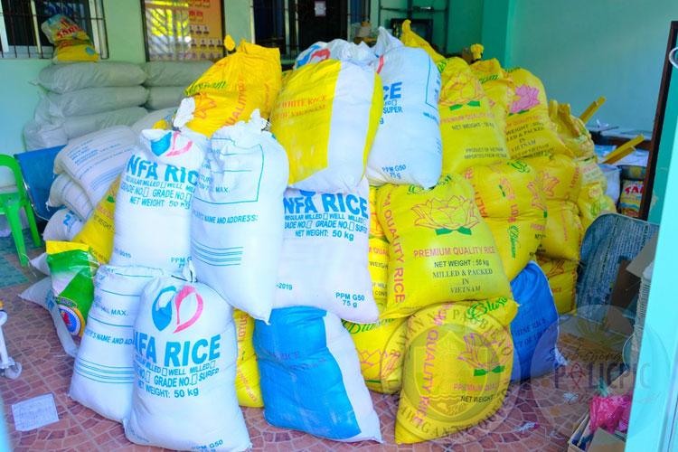 2nd Wave of Rice Distribution - Brgy. Pinagbayanan