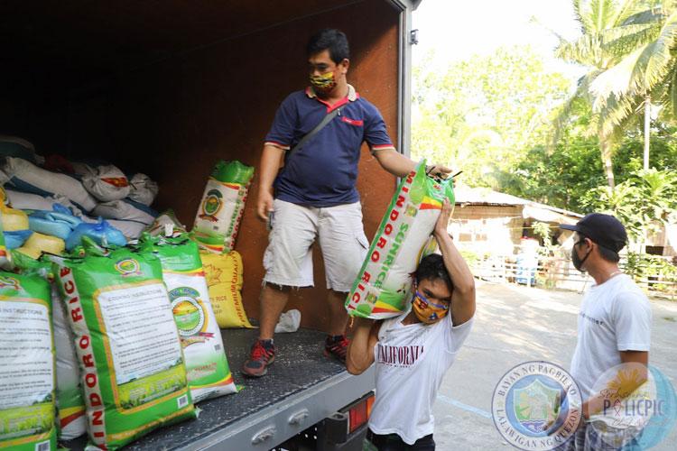2nd Wave of Rice Distribution - Brgy. Silangan & Kan. Malicboy