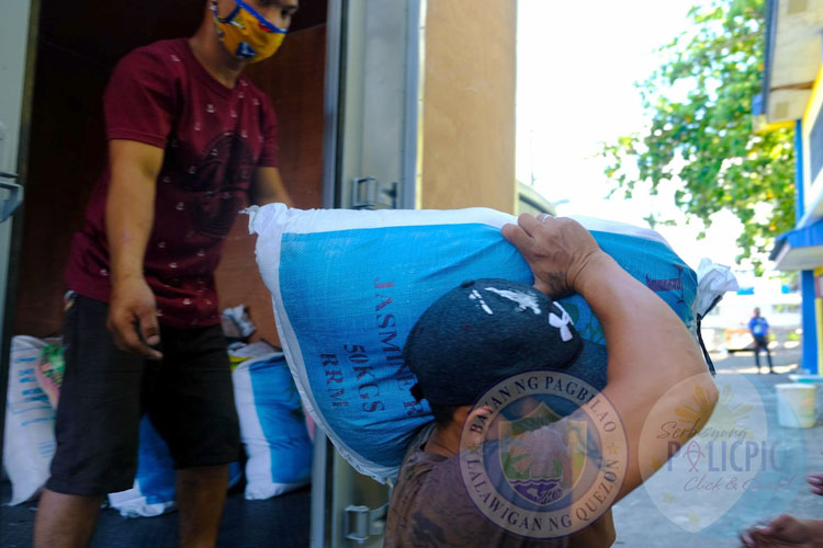 2nd Wave of Rice Distribution - Brgy. Sta. Catalina