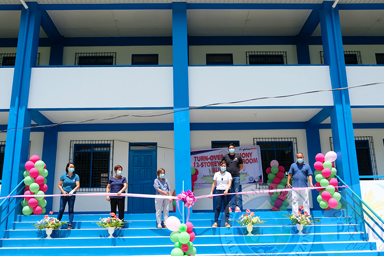 Turn Over Ceremony of 2-Storey, 4 Classroom Building