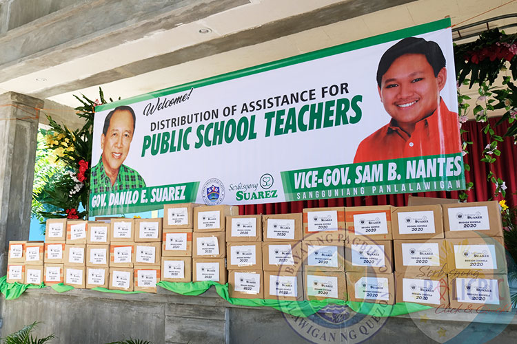 Distribution of Assistance for Public School Teachers