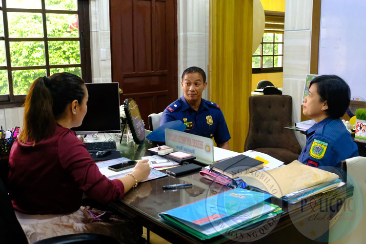 Courtesy Call of New PNP Chief