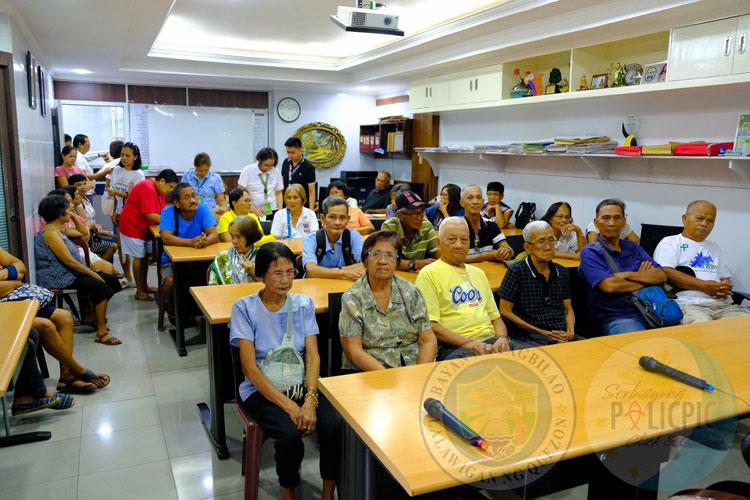 Distribution of Checks (Senior Citizens)
