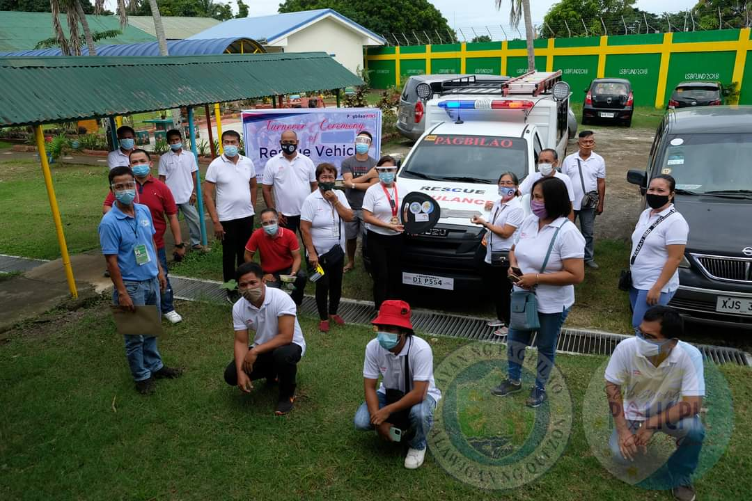 Turnover of Rescue Vehicles - Brgy.  Talipan