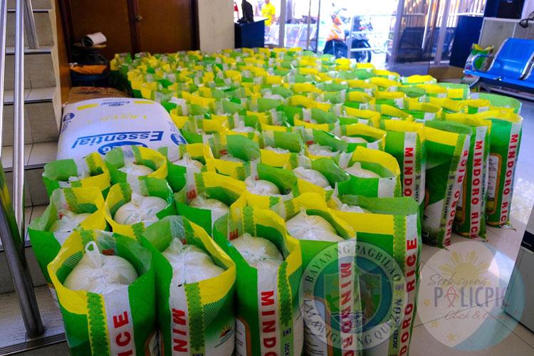 First Batch Rice Distribution - Brgy. Kanlurang Malicboy