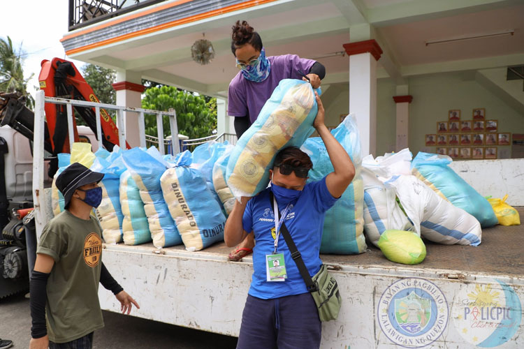 Relief Good Distribution - Barangay Ikirin, Ilayang Polo, Ibabang Polo & Silangang Malicboy