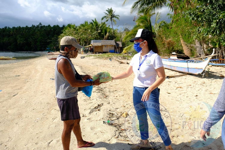 Relief Operation at Brgy. Ibabang Polo