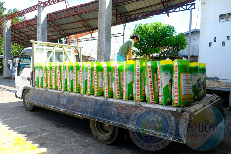 Rice Distribution - Brgy. Bukal