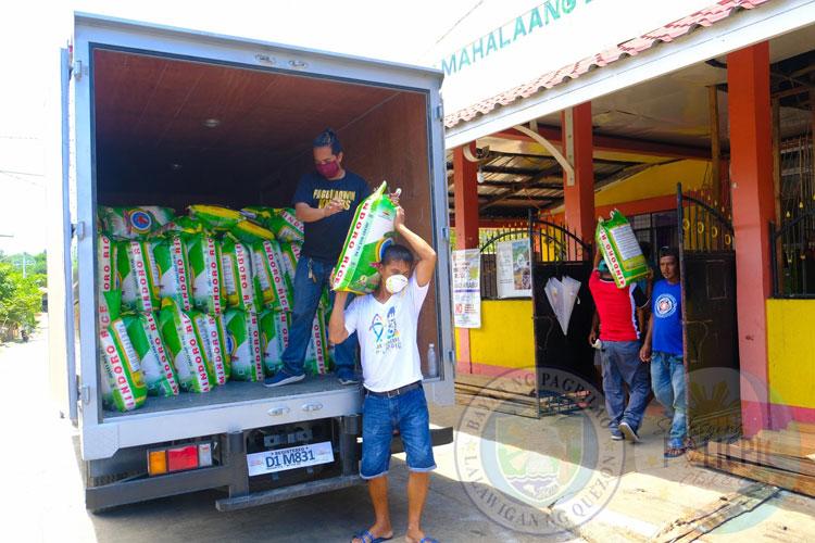 Rice Distribution - Brgy. Ilayang Polo